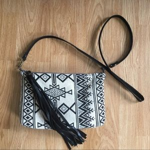 Vintage one of a kind boho crossbody purse